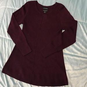 NWOT Cynthia Rowley Long Sleeve Sweater Dress